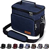 Insulated Lunch Bag for Women/Men - Reusable Lunch Box for Office Work School Picnic Beach -...