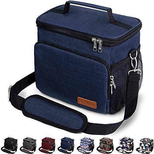 Insulated Lunch Bag for Women/Men - Reusable Lunch Box...