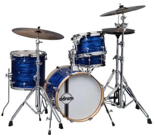 ddrum SE FLYER BP Speakeasy Flyer 4-Piece Bop Kit, Blue Pearl