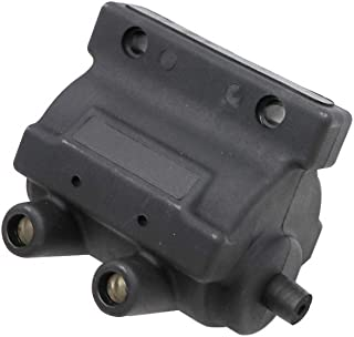KIPA Ignition Coil For Harley Davidson Sportster 1000 900 Low Rider 1200 Supler Glide Electra Glide Roadster Dyna Convertible Daytona Fat Boy Heritage Softail FLT FXST FXD 5 OHM HD 31609-65A 31609-65