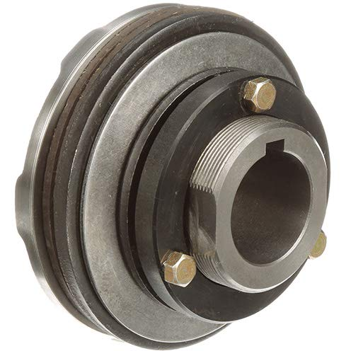 Torque Limiter - Finished Bore - Finished with Keyway, 1-7/16 in Bore, 5 in OD, 310 lb-ft Torque Capacity, 1000 rpm Max