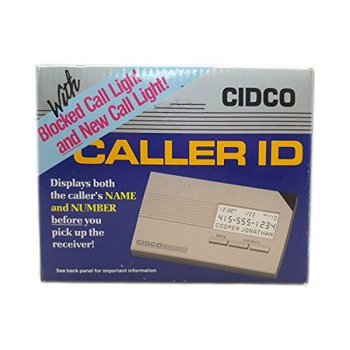 CIDCO Caller ID box