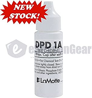 LaMotte NEW FRESH P-6740-G DPD 1A Liquid Reagent, Free Chlorine, 30 ml, exp. date listed