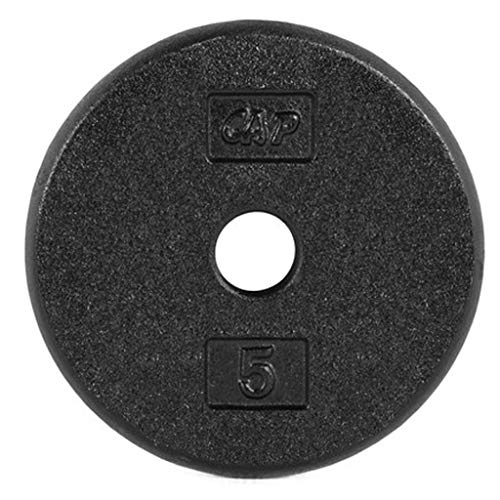 Iron Disc Weight Plate Black Fitness Cast Iron Grip Plate for Barbell, Plate Iron Grip Plates for Weightlifting, 1.25 Lb-20 Lb (Size : 10 lb)