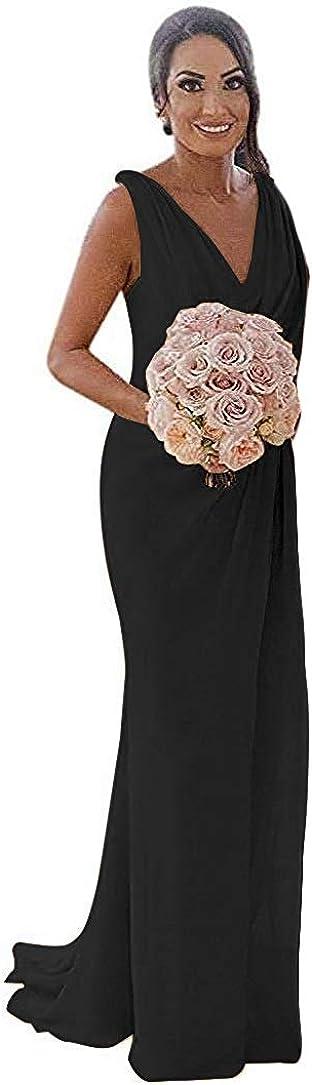 Bridesmaid Dress Long Evening Dresses for Wedding Party Chiffon Prom Dress Bridesmaid Dresses with Split
