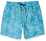 Spyder Men's 7' Volley Swim Trunks, Aqua Tristar, XXL
