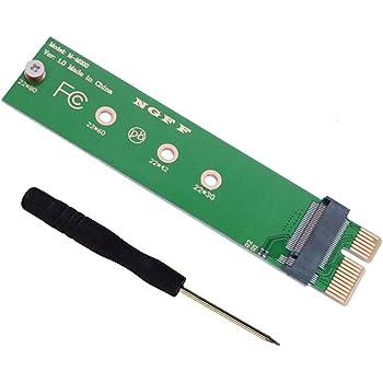 NVME PCI-EプロトコルM.2 NGFF SSDからPCIe x1アダプターカードPCIe 1xからM.2