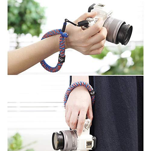 HAKUBA カメラストラップ STRAPS リストストラップ M8 小型一眼カメラ用 パラコード編み アムステルダム KSTPS-M8-AMD
