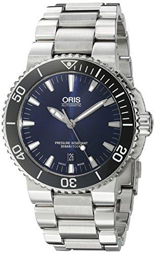 Oris'Aquis'da uomo Swiss automatico da orologio, in acciaio INOX, colore:...