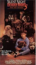Silent Night Deadly Night 5: The Toy Maker VHS