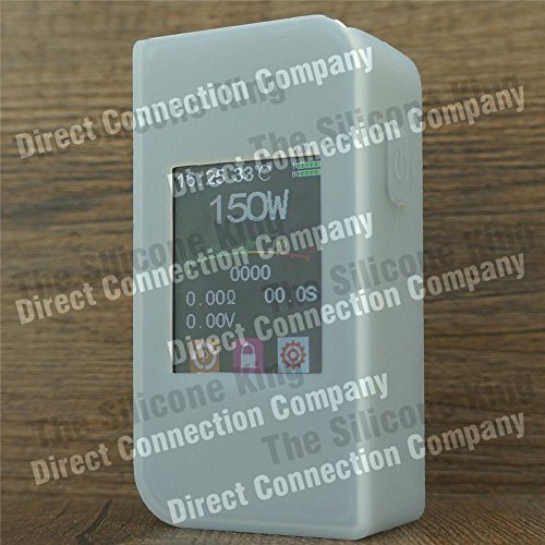 Silicone Case for SIGELEI T150 Touch Screen 150W TC Skin Sleeve Cover Wrap (Clear Opaque)