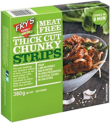 Frys Family Vegetariano Tiras de Ternera Vegana 380GR (Pack ...