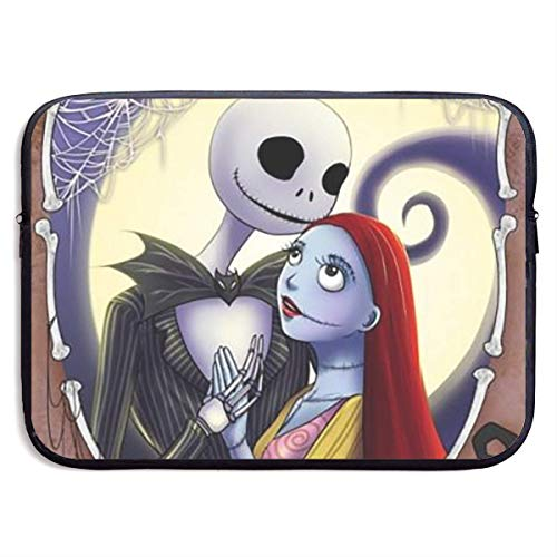 Hdadwy Jack Skellington and Sally Laptop Sleeve Bag Compatible MacBook Pro/MacBook Air/Surface Book/Surface Laptop 13 inch