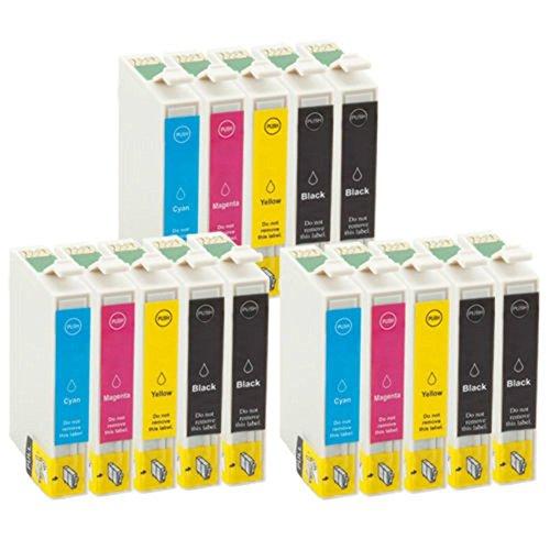 TiAN–15Compatible Cartuchos de tinta reemplazar T0611T0612T0613T0614para Epson Stylus DX4200DX4250DX4800DX4850DX3800DX3850D68D88impresoras