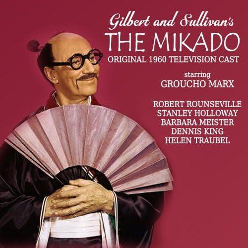 Groucho Marx, Robert Rounseville, Stanley Holloway, Barbara Meister, Dennis King & Helen Traubel