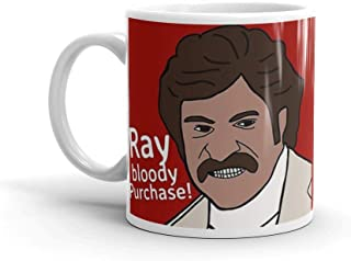 Ray bloody Purchase!!. 11 Oz Coffee Mugs With Easy-Grip Handle, Suitable For Hot And Cold Drinks. Can Be Used For Home And Office