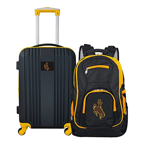 Purchase NCAA Wyoming Cowboys 2-Piece Luggage Set