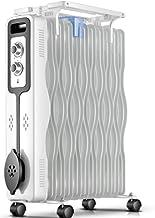 Zzq- Radiador De Aceite De 11/13 Elementos, 2000W Watios, Dispone De 3 Ajustes De Potencia Y Control Termostático De Temperatura