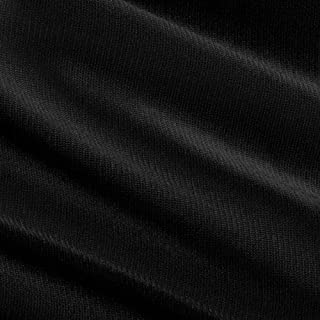 Somerset Industries, 108in 40 Denier Tricot Black Fabric By The Yard