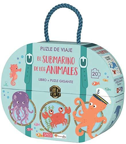 El submarino de los animales. Puzle de viaje. Con puzzle Edic. ilustrado (Español)
