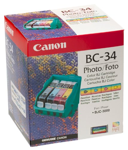 Canon BC-34 Photo BJ Cartridge