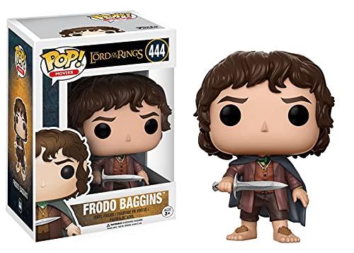 Funko Pop!- LOTR/Hobbit: Frodo Baggins Figurina de Vinilo, Multicolor, 10 cm (13551)
