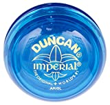 Duncan Toys Imperial Yo-Yo, Beginner Yo-Yo with String, Steel Axle and Plastic Body, Blue