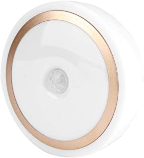 AMONIDA Lätt att installera LED-nattlampa, induktionslampa, 6 LED-lampor källare babyrum verkstad sovrum korridor skåp var...