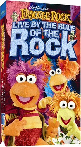 Fraggle Rock Live By the Rule of the [VHS]