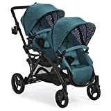 Contours Options Elite Tandem Double Toddler & Baby Stroller, Multiple...