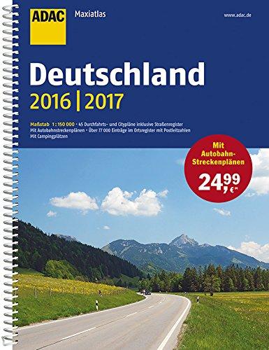 ADAC Maxiatlas Deutschland 2016/2017 1:150 000 (ADAC Atlanten)
