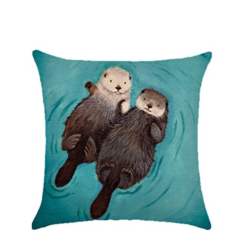 Nicetage Otter Kissen Cartoon Tier Kissen Home Dekoration