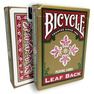 US Playing Cards Bicycle Leaf Back …
