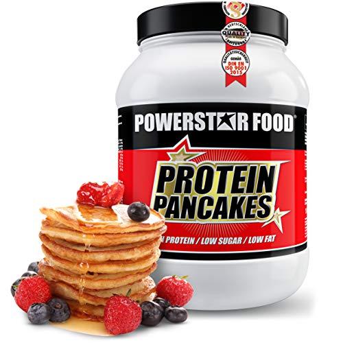 PROTEIN PANCAKES | 1000g | Low carb Pfannkuchenmischung | low fat | Nur 1,7% Zucker & 1,2% Fett | Ganze 41,1g Protein p.P. | Köstlicher Geschmack | Perfekt als Frühstück & zwischendurch (Süß, 1000g Dose)