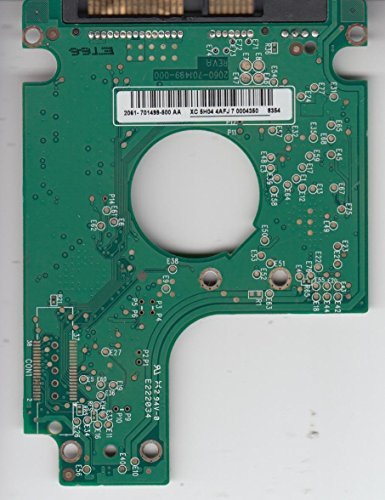 WD1600BEVT-11ZCT0, 2061-701499-500 AA, WD SATA 2.5 Leiterplatte (PCB)