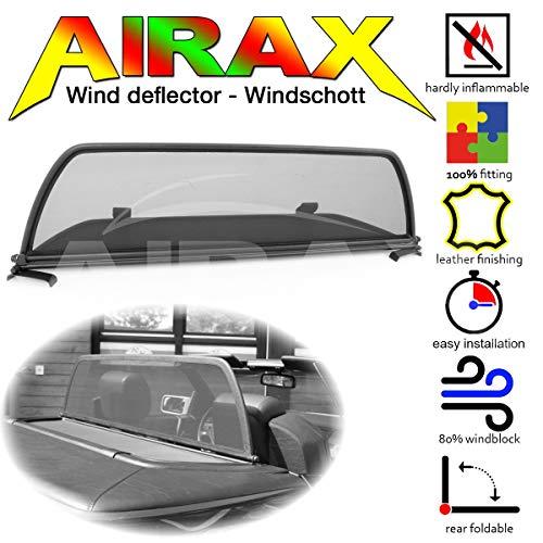 Airax Windschott für SL R129 Windabweiser Windscherm Windstop Wind deflector déflecteur de vent