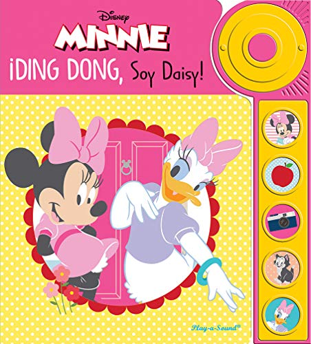 Libro con timbre Minnie Mouse: DING DONG, SOY DAISY (LDB)
