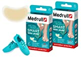 Medrull Tiritas Hidrocoloides para ampollas SMART Plaster 12 Apósitos 2 Cajas
