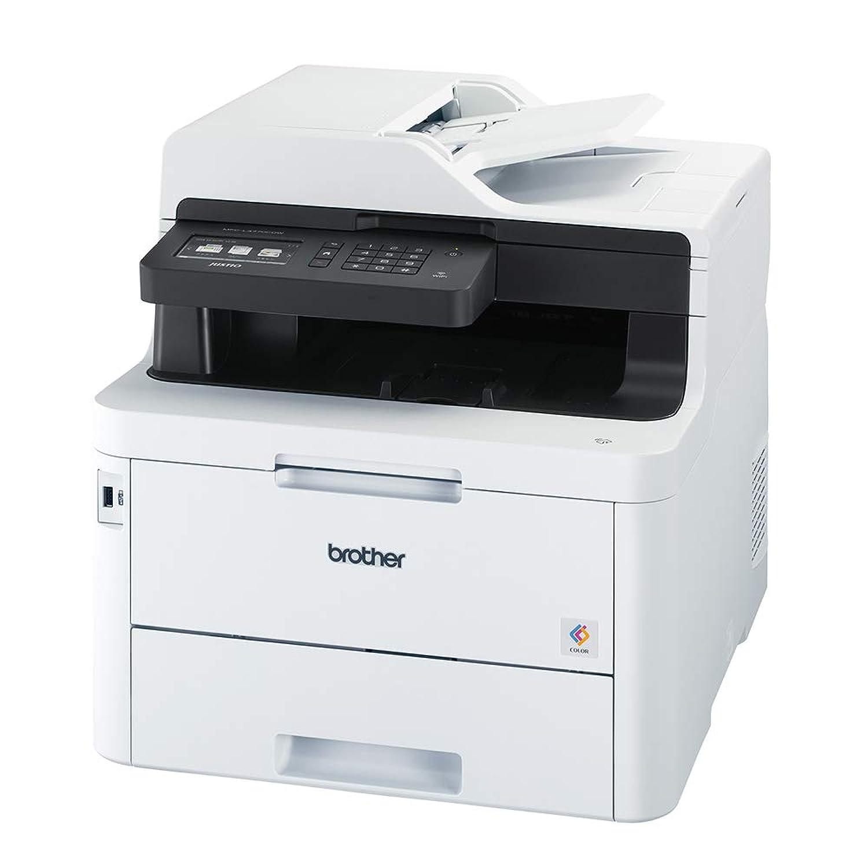 ブラザー レーザープリンター 複合機 A4カラー/FAX/24PPM/両面印刷/有線?無線LAN/ADF MFC-L3770CDW