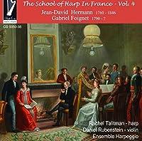 Hermann: The School of Harp in France Vol 4 by Rachel Talitman