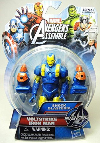Marvel The Avengers Assemble Wolfstrike Iron Man 4 Inch Action Figurine