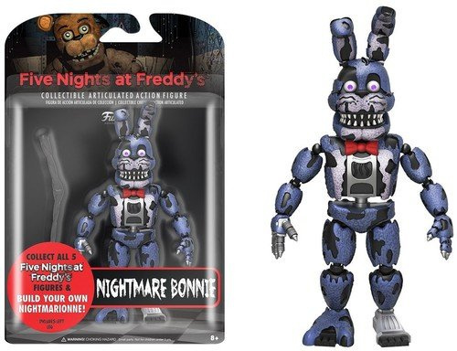 Funko Action Figure,  Five Nights at Freddy's- Pesadilla Bonnie