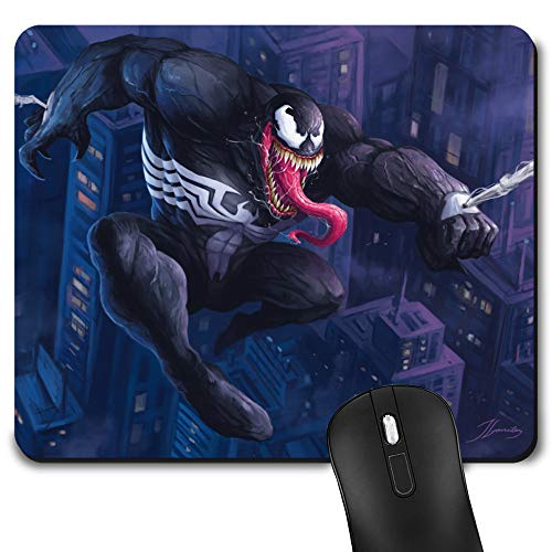 Gaming Mouse Pad, Game Computer Mousepad for Laptop and Desktop, Cute Funny Mouse Mat for Kid and Office Gift (Ve-nom)
