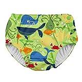 i play. IP-721150-547-48 - Pañal para nadar, niños, color verde