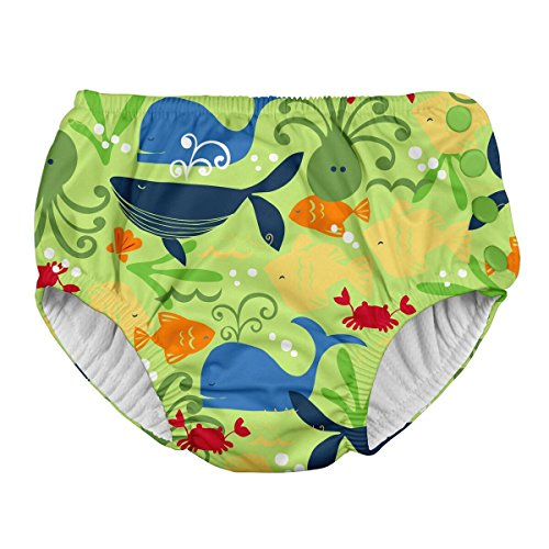 i play. 721150 Schwimmwindel, Lime Sealife, 4T (3-4 years), grün