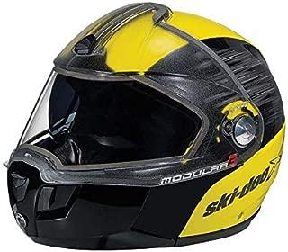 Ski-Doo Modular 3 X-Team Swift Helmet (XL, Yellow)