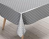 Ideal Textiles Polka Dot Silver ...