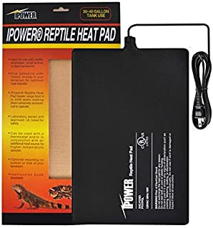 iPower Reptile Heat Pad Under Tank Terrarium Heater Heat Mat for Small Animals
