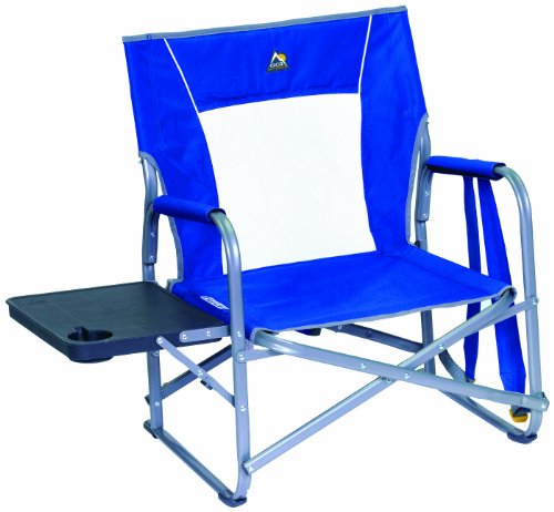 GCI Outdoor Slim-Fold Low-Height Backpack Event Chair and Table