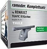 Rameder Komplettsatz, Dachträger SquareBar für Renault TRAFIC III Kasten (117796-12792-1)